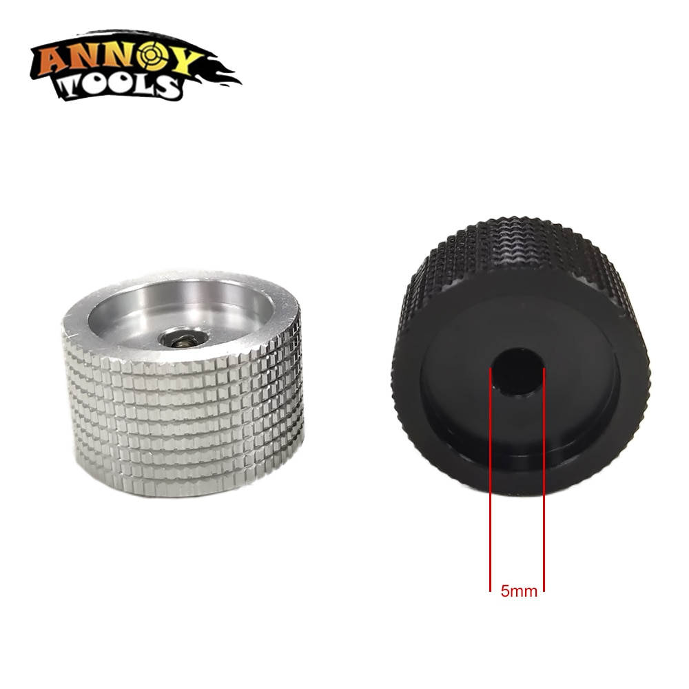 2PCS/5PCS/10PCS 25x15.5x5mm Aluminum Alloy Potentiometer Knob Rotation Switch Volume Control Knob Black In Stock