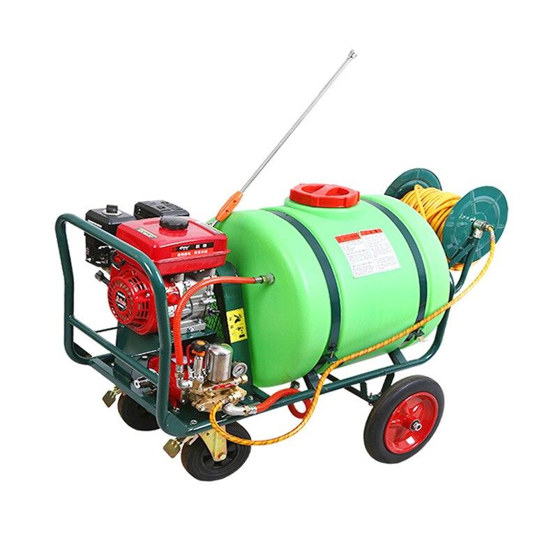 Pulverizador de gasolina de tipo Push-type de 160 litros, pulverizador doméstico de alta presión para máquina agrícola a gasolina
