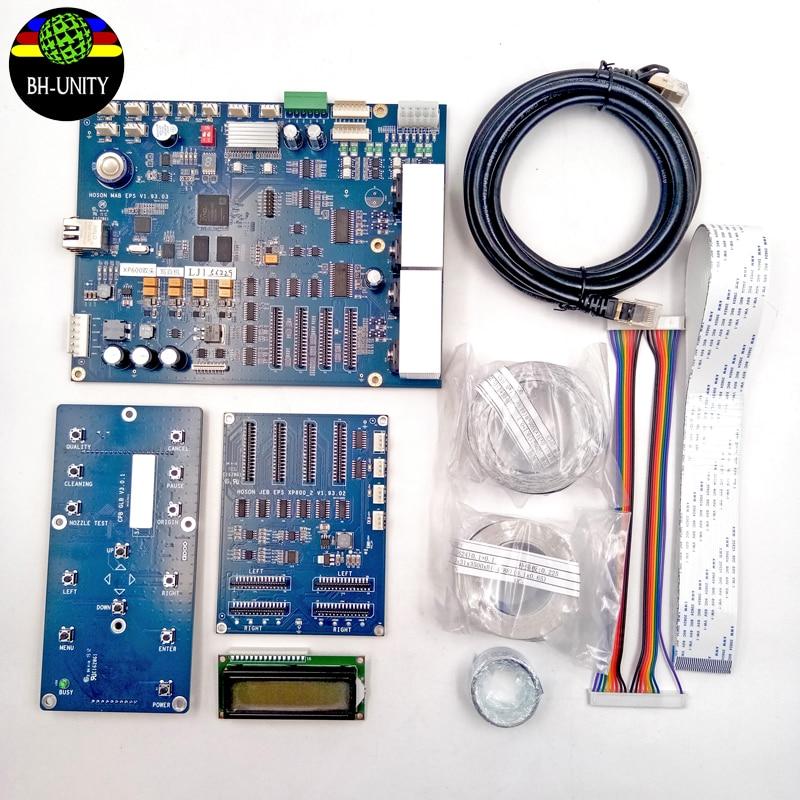 HOSON XP600 printhead full set board net version xp600 double head board kit for dx10 dx11 print head eco solvent printer