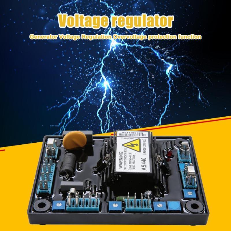 AC AS440 regulador de voltaje automático Universal diésel sin escobillas motor generador avr circuito diagrama estabilizador