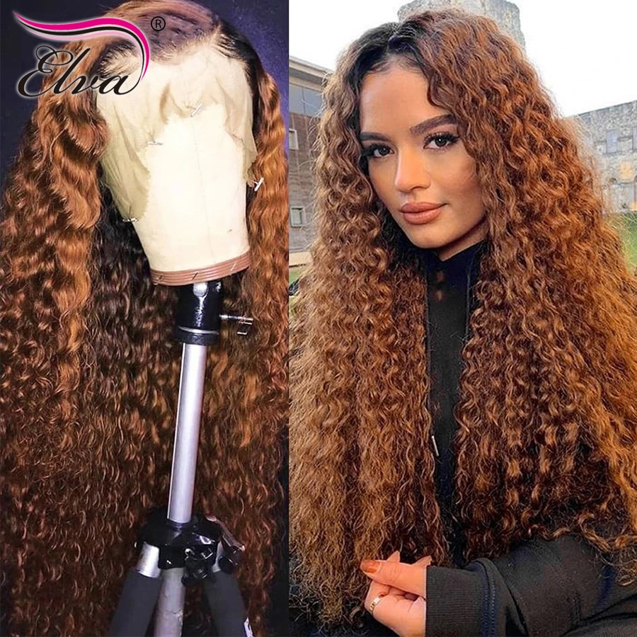 Yonce Wig 13x6 Lace Front Human Hair Wigs For Women Pre Plucked Hairline 250% Density Ombre Deep Part Lace Frontal Wig Baby Hair