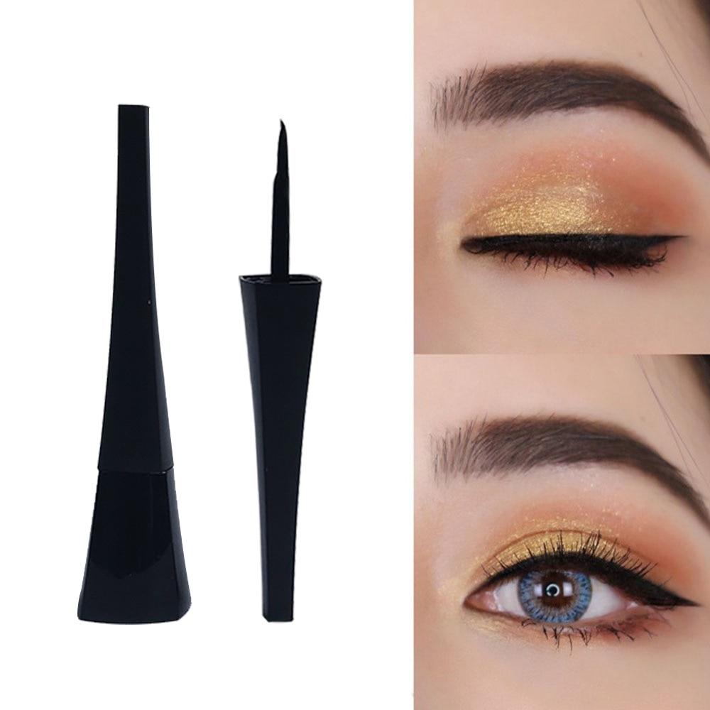 Print LOGO Liquid Eyeliner Eye Make Up Waterproof Long Lasting Eiffel Tower Eye Liner Easy To Wear Eyes Cosmetics Tools Set