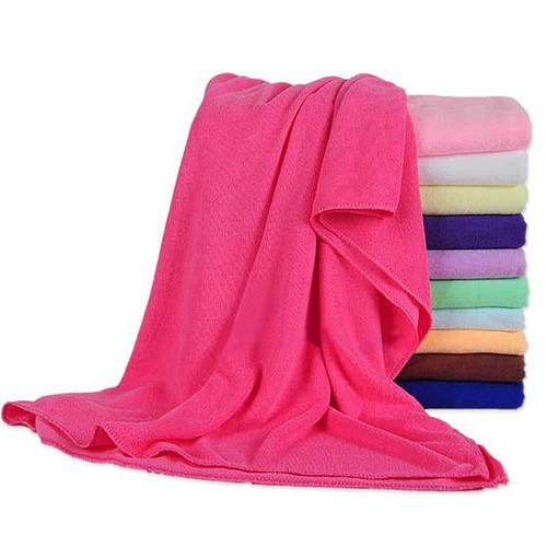 1pc Longo Microfibra Absorvente Velo Shower Spa Body Wrap Toalha de Banho 70x140 centímetros toalha de Rosto