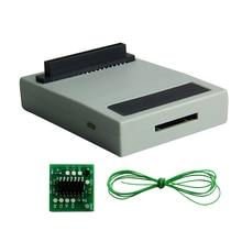 Pour Sony PlayStation1 PSIO cd-rom lecteur de carte de jeu simulateur de lecteur optique gratuit avec carte de commutation pour Console de jeu épaisse PS1