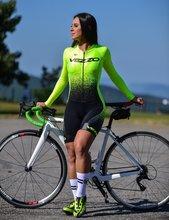VEZZO z długim rękawem triathlon lato bieganie pływanie roupa de ciclismo macaquinho ciclismo feminino mtb odzież zespół kombinezon