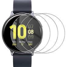 1/2/3 шт., защита экрана часов для Samsung Galaxy Watch Active 2, 40 мм, 44 мм, полное покрытие, изогнутые края, защита от царапин