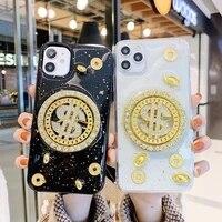iphone case rotating u s coin gold foil phone case applicable iphone11pro mobile phone case apple 12xsmaxxr 78 jewelled