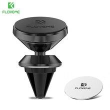 FLOVEME soporte magnético del teléfono del coche para el iPhone X 8 más soporte 360 grados de aire del sostenedor del montaje del coche para Samsung s9 s8 Soporte Movil Auto soporte movil coche anillo movil sujeta
