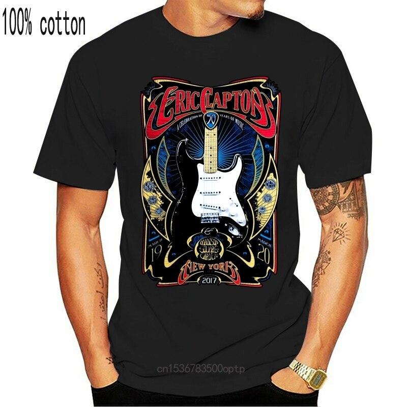 New Eric Clapton Tour Poster 2021 york 2017 Art Men's T-Shirt Clothing