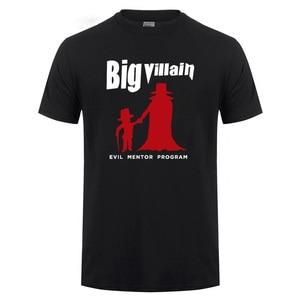 Big Villain Evil Mentor Program The Monarch T-Shirt For Men Funny Humor Joke Short Sleeve O Neck Cotton T Shirt Tshirt Tops Tee