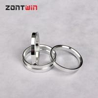 4pcs Car Aluminum Hub Rings Hub Centric Ring Wheel Bore 68.1-67.1 69.1-67.1 70.3-67.1 71.6-67.1 71.6-66.1 72.56-67.1 72.8-67.1mm