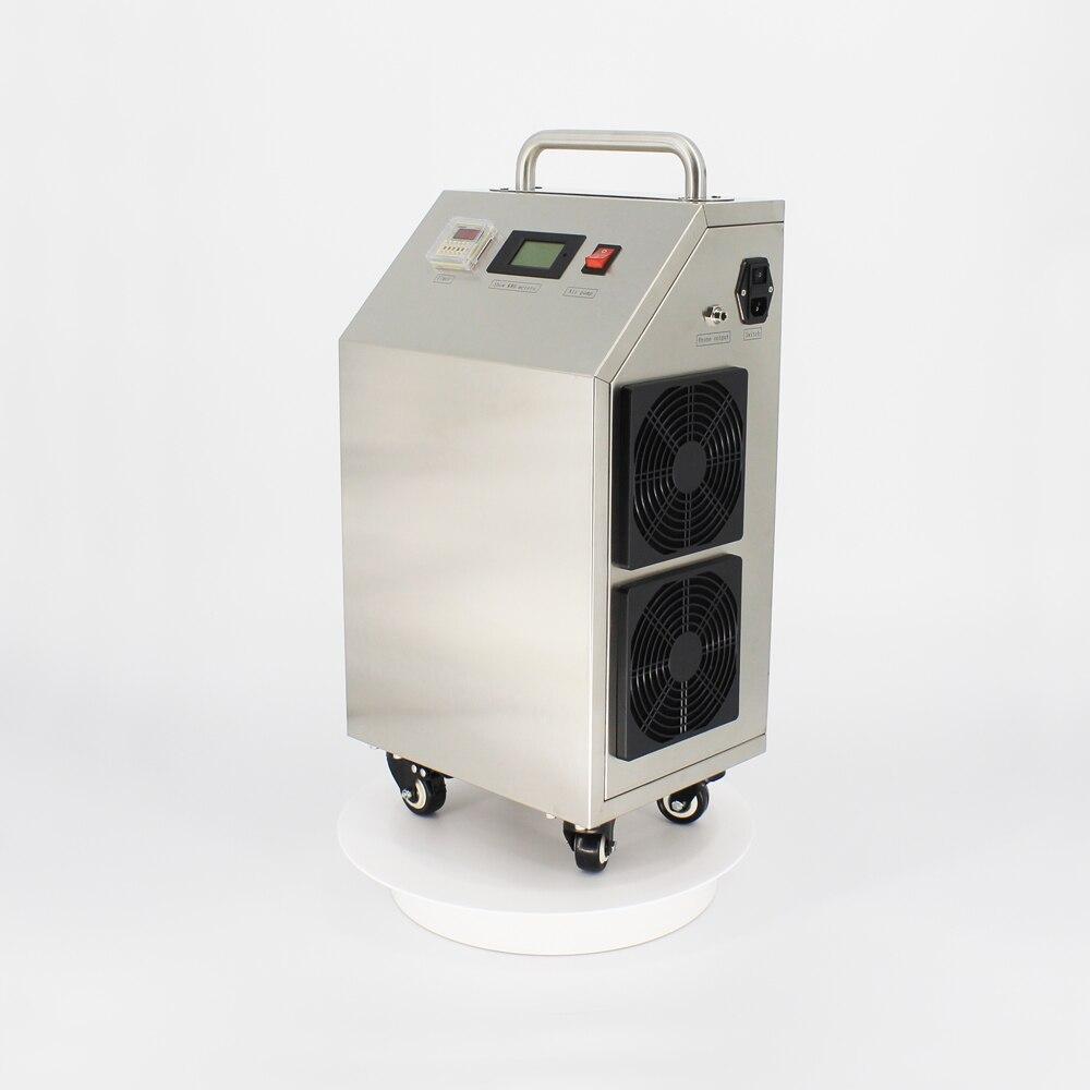 Pinuslongaeva h1 móvel 304 de aço inoxidável 5 8 10 15 20 25 30 g/h ozônio máquina tratamento água ar o3 equipamentos médicos