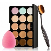15 color Concealer Contouring correcteur maquillage Cream Based anti cernes makeup cosmetic set brus