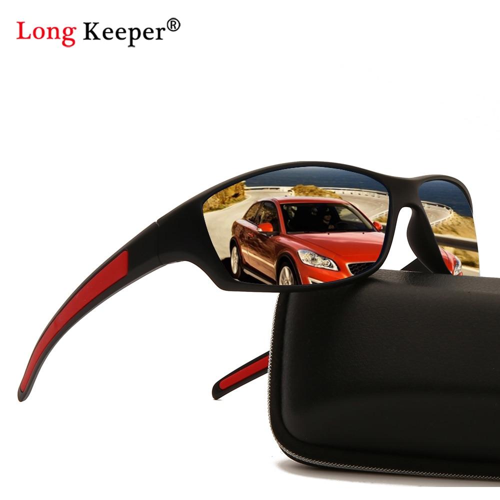 Matte Black Frame Polarized Sunglasses Men/Women UV Protection Sports Goggles Sun Glasses Mirror Anti Glare Eyewear Male Shades stylish golden alloy leg matte black frame sunglasses for women