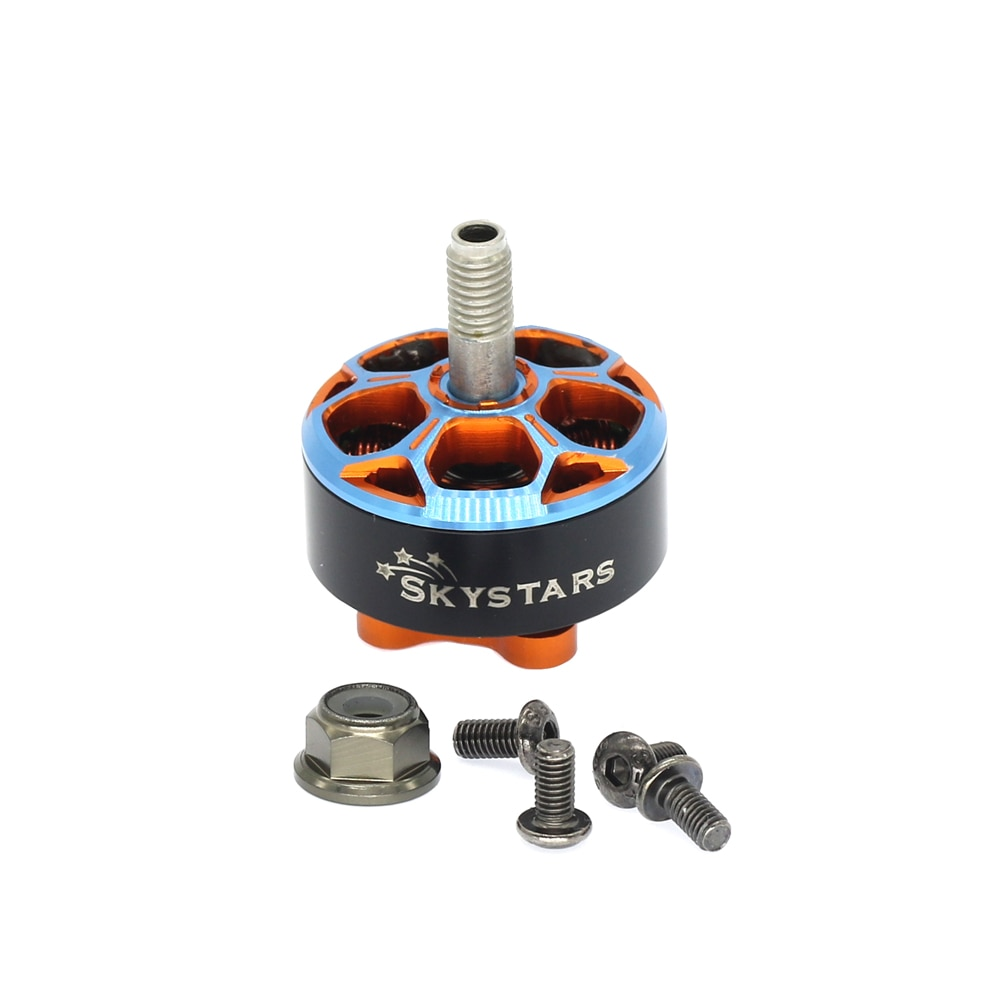 Skystars 2207 1950KV 6s Brushless Motor for RC FPV Racing Freestyle 5inch Drones Replacement DIY Parts enlarge