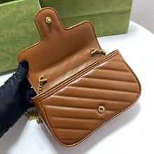 2021 Top Quality Branded Women's Shoulder Bags Thick Chain Quilted Shoulder Purses And Handbag Women