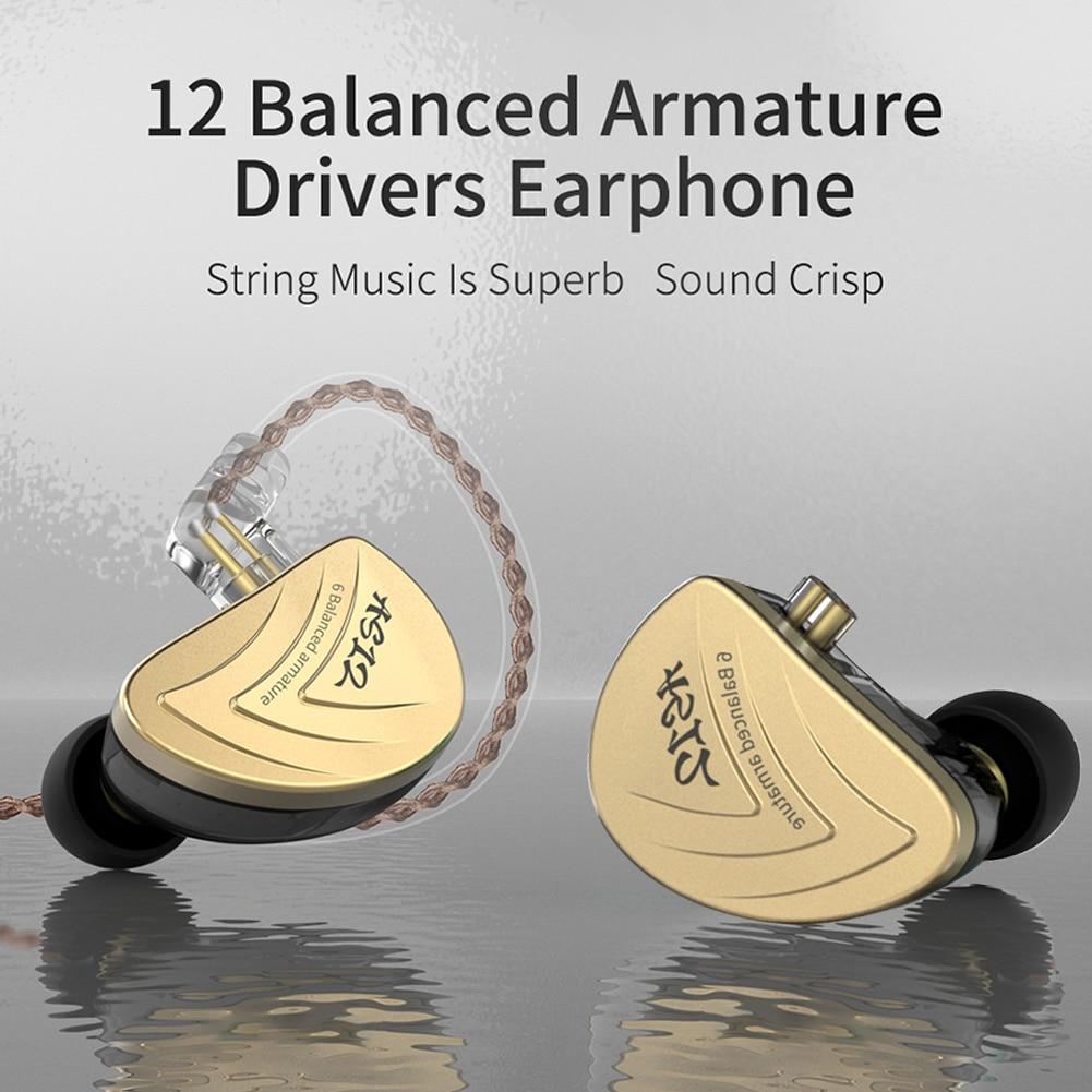 3.5mm Earphone Monitor Headphones In Ear Earbuds Sport Noise Earphones 8BA Unit Hybrid Noise Cancelling Call Sport Music enlarge