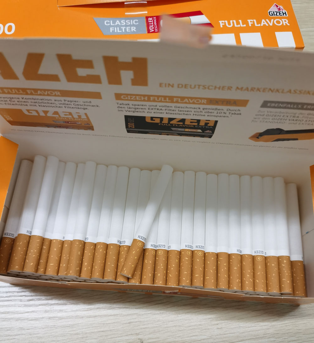 200 empty pipe Cigarette accessories Filter tube Electric Tobacco Rolling Machine enlarge