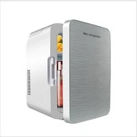 car cooling and heating box home and car dual purpose incubator car refrigerator 13l single door portable mini car refrigerat