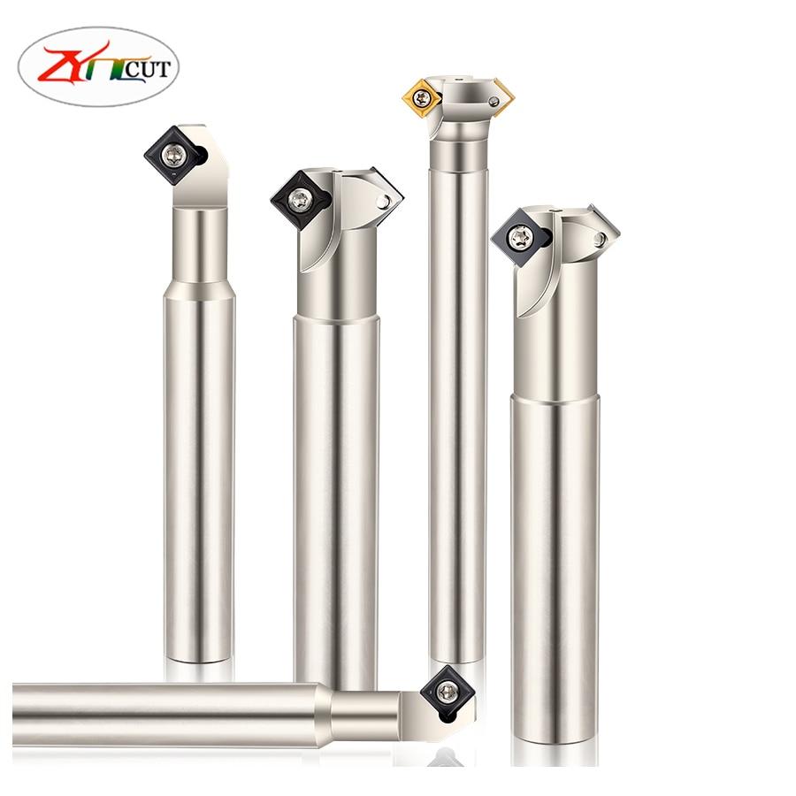 SD-25-150-C20-2T SD-32-150-C25-2T 45 درجة CNC الداخلي والخارجي الشطب نهاية مطحنة متعددة الوظائف الشطب سكين