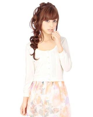 JUGE ETTA Multi-capa transparente encaje color puro siete-Manga Rebeca camisas