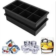 Moule à glaçons en Silicone pour whisky, cocktail, gâteau au lait, moule à chocolat, moule à bac à glaçons carré facile à libérer