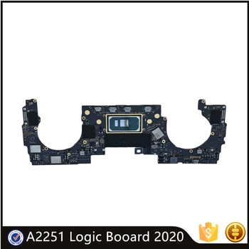 Original A2251 820-01949-A Motherboard For MacBook Pro 13