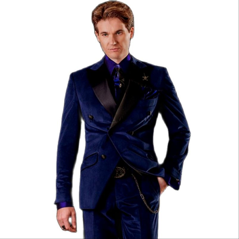 куртка zimtstern snow jacket vega men blue dark grey Dark Blue Velvet Men Suit For Wedding Double Breasted Groom Tuxedo Best Prom Wedding Man Suit (Jacket+Pants)
