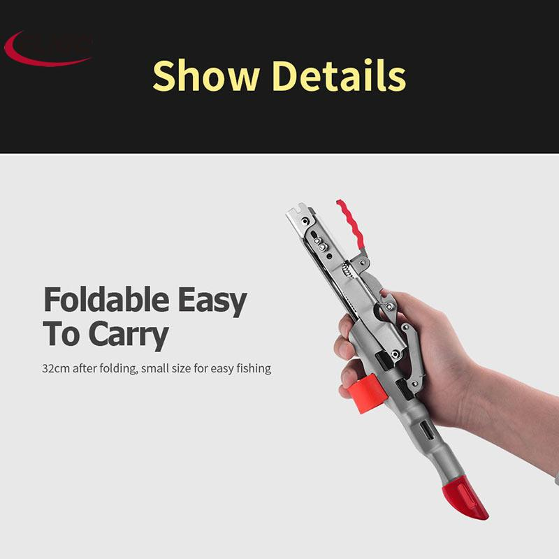 Fishing Rod Holder Spring Automatic Full high-quality Stainless Steel Adjustable Sensitivity Folding Fishing Accessories Bracket enlarge