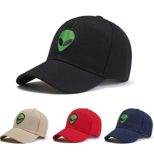 2021 Cross-Border Adult Baseball Hat Spring And Summer Alien Pattern Sunshade Hat Personality Male And Female Caps