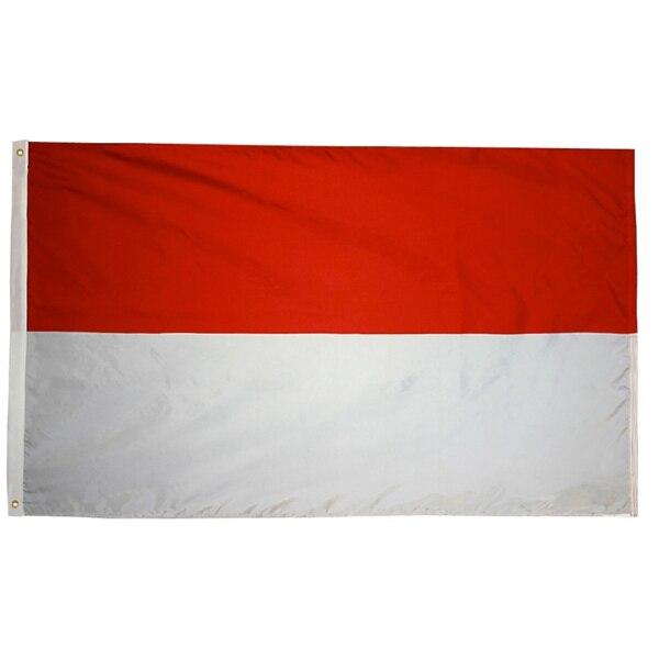 90*150cm hesse mc mco monaco id idn indonésia bandeira