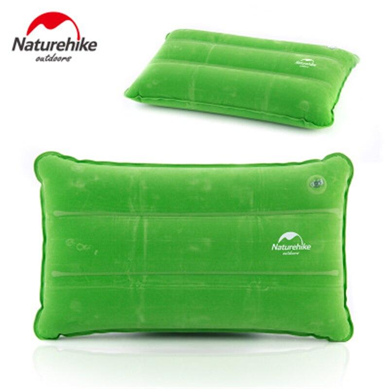 Naturehike Cuscino Gonfiabile Cuscino Ultralight Gonfiabile Automatico Portatile Pieghevole per Esterni di Campeggio di Viaggio Pausa Ufficio