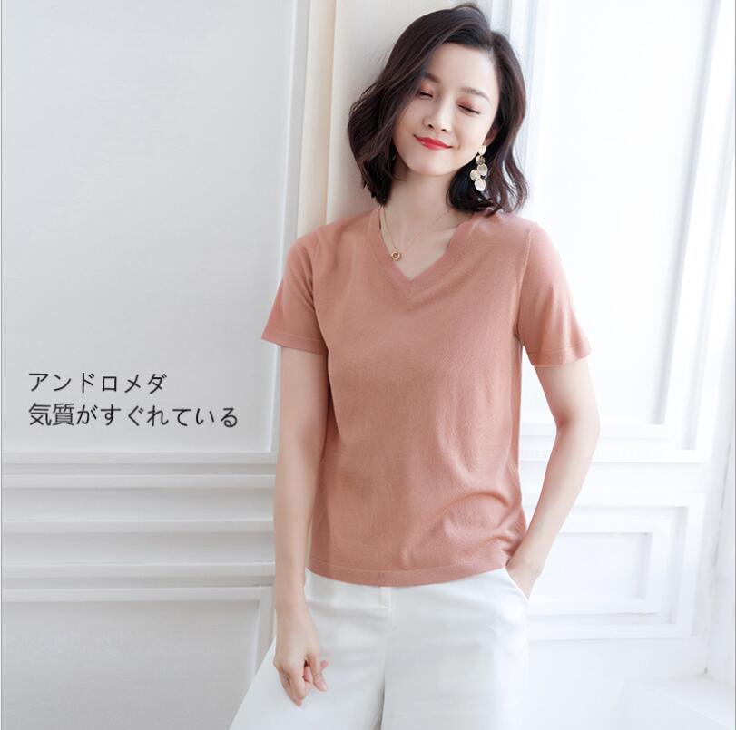 ZNG 2020 nuevas camisetas de manga corta para mujer, nuevas camisetas casuales de verano para mujer, lindas camisetas recortadas