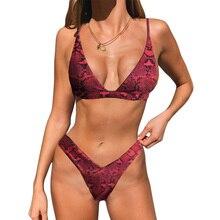 Marque femmes Micro Bikini ensemble Push Up maillots de bain solide plage maillot de bain brésilien string maillot de bain pour filles Bikini maillot de bain Femme