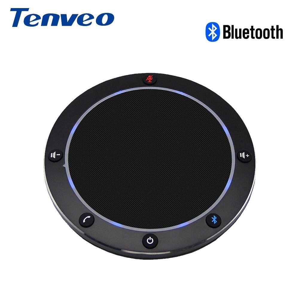 [Spain Stock] Tenveo NA100B Bluetooth USB Conference Speaker Speakerphone for VoIP Softphones via PC Mobile phone Music Speaker