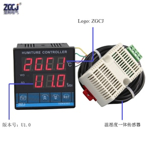 -40℃~120℃ 0~99.9%RH greenhouse garden digital temperature and humidity controller TDK-0302 humiture controller