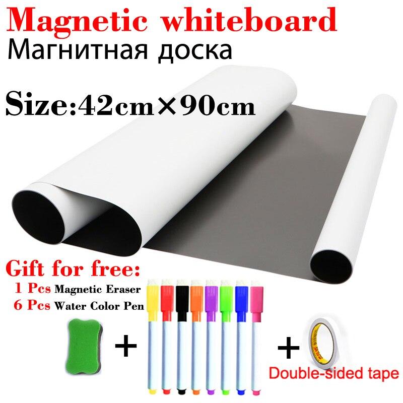 Белая доска для вытирания, магнитная доска, календарь на стену, еженедельник, наклейки на холодильник, доска объявлений, доска для рисования...