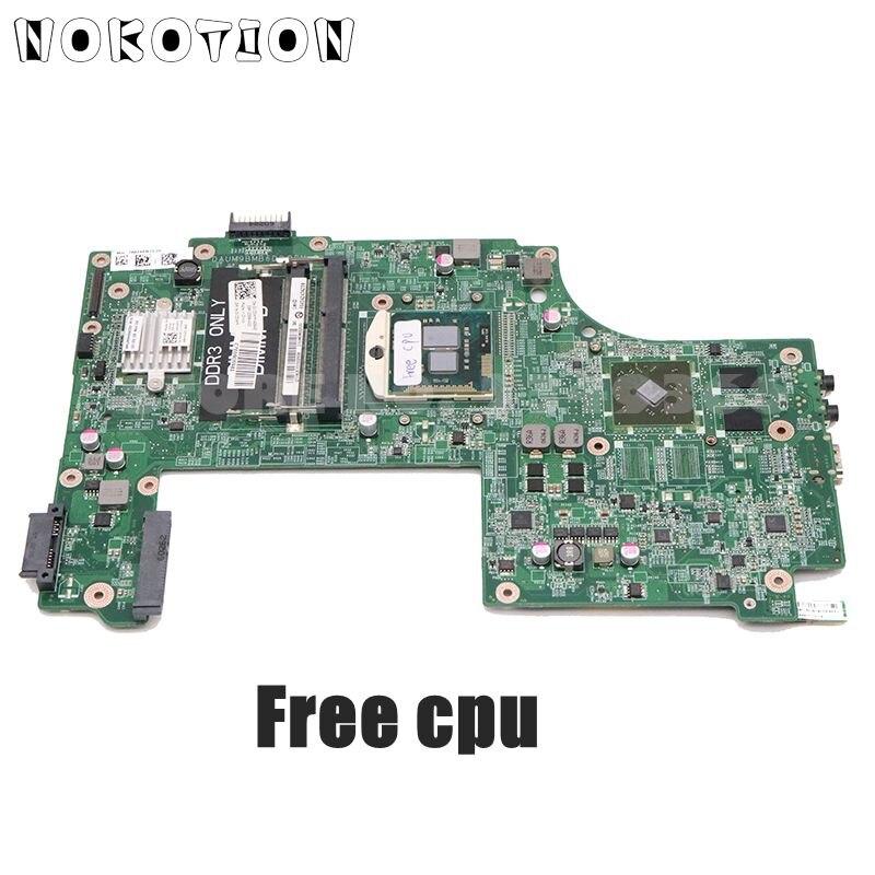 NOKOTION CN-0V20WM 0V20WM Laptop Motherboard Für Dell Inspiron 17R N7010 Wichtigsten Bord DAUM9BMB6D0 HD5470M GPU Kostenloser CPU