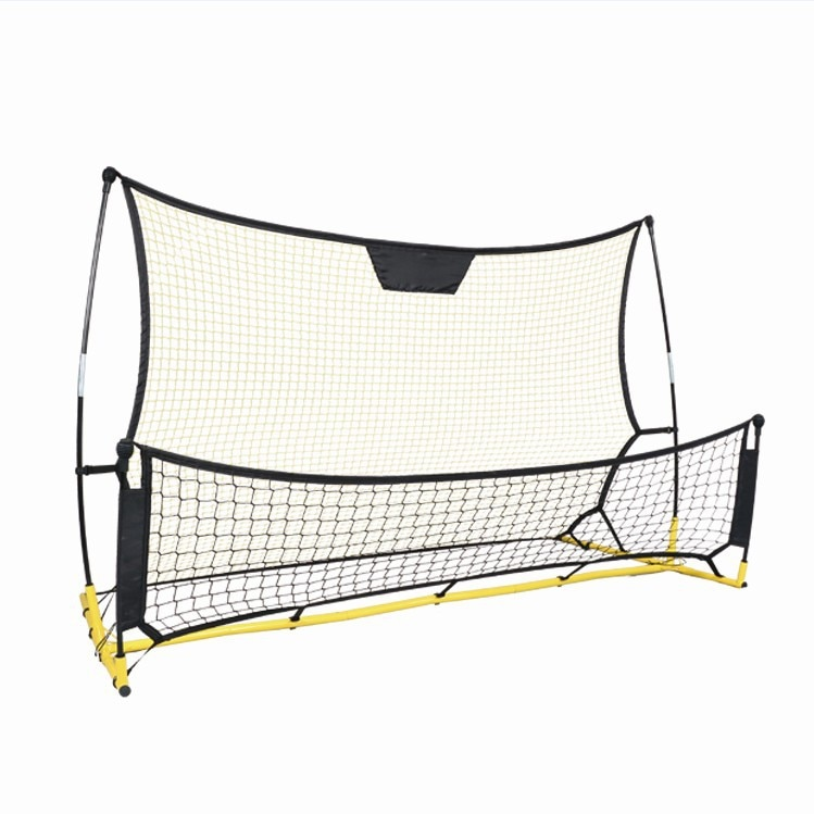 Football Detachable Portable High and Low Double-Sided Football Rebound Net Football Gate Practice Net Children Practice Net