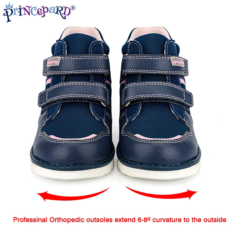 Princepard Orthopedic Casual Shoes Kids 2021 New Autumn Winter High Back Ankle Support Corrective Sneakers enlarge