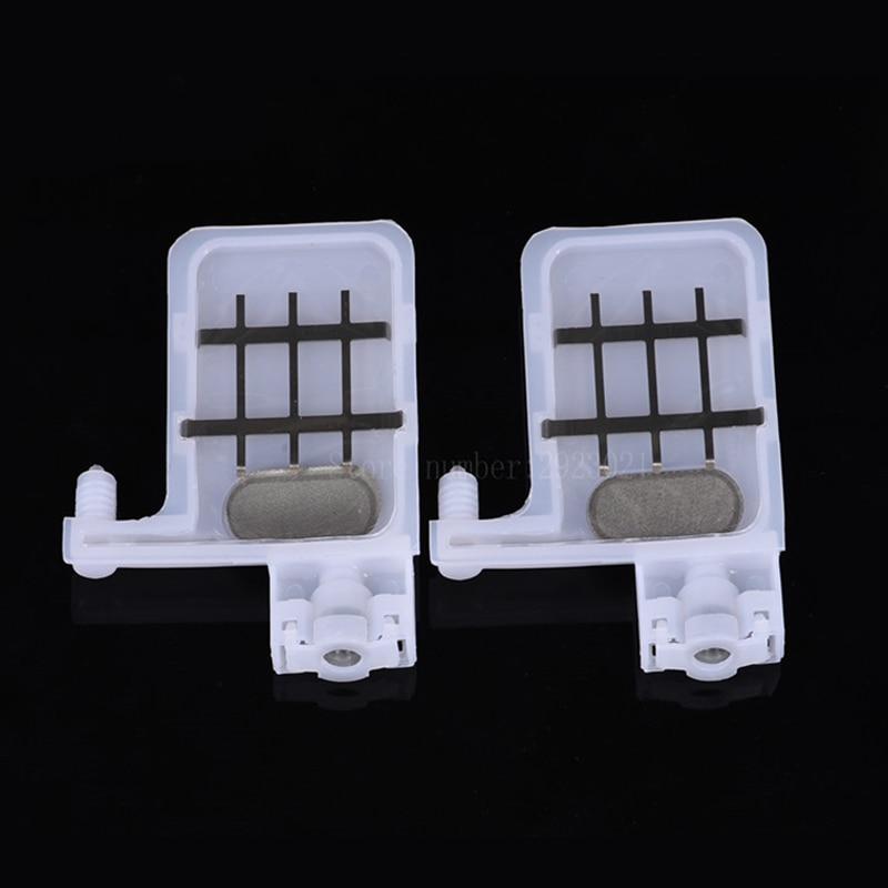10 piezas para impresora solvente Xuli Mutoh Allwin Human Zhongye Galaxy DX5 amortiguador de tinta grande 3X2mm 4X3mm conector pequeño