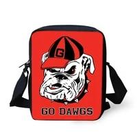 flaps messenger bags small cute women bags cartoon bulldogs print pattern girls crossbody bag fashion shoulder purses