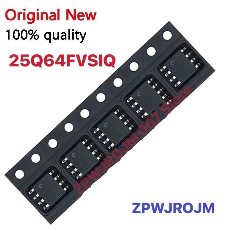 50-100 قطعة W25Q64FVSSIG W25Q64FVSIG 25Q64FVSSIG 25Q64FVSIG 25Q64 SOP-8
