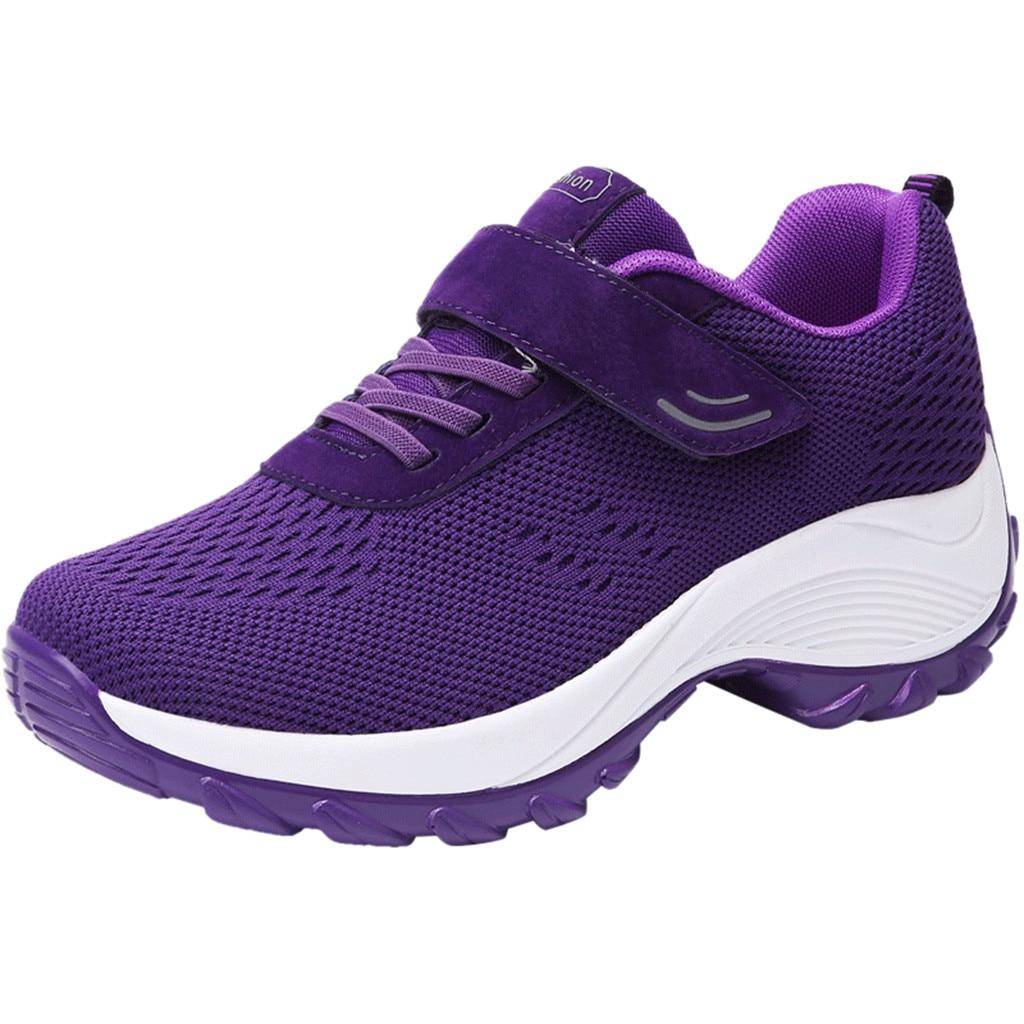 SAGACE 2019 nuevas zapatillas de deporte de las mujeres de vuelo que le zapatos de zapatos casuales zapatos de mujer zapatos de zapatillas de deporte de ocio deportes zapatos para damas