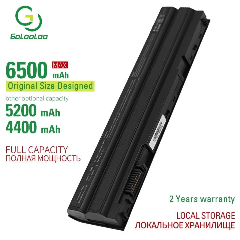 6500mAh 11,1 V 6 celular nueva batería de ordenador portátil T54FJ M5Y0X N3X1D P9TJ0 para Dell Latitude E6420 E6520 E5520 E5420 E6430 E6530 NHXVW P8TC7