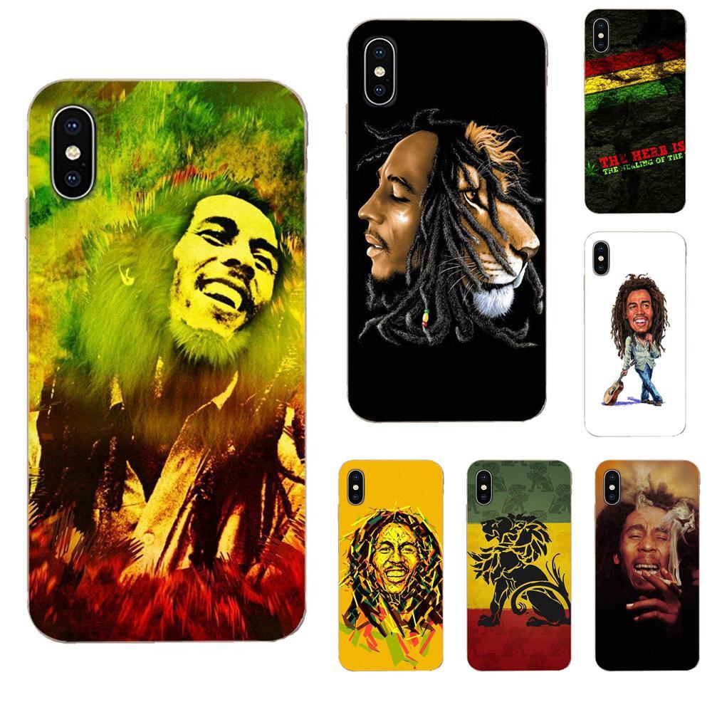 Bob Marleys Lion Rasta Reggae For Samsung Galaxy Note 8 9 10 Pro S4 S5 S6 S7 S8 S9 S10 S11 S11E S20 Edge Plus Ultra