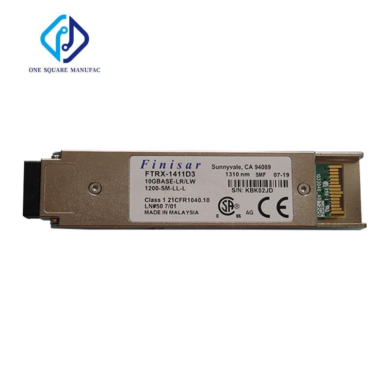 Finisar FTRX-1411D3 جهاز إرسال واستقبال الألياف البصرية أحادي الوضع XFP-10G-10km