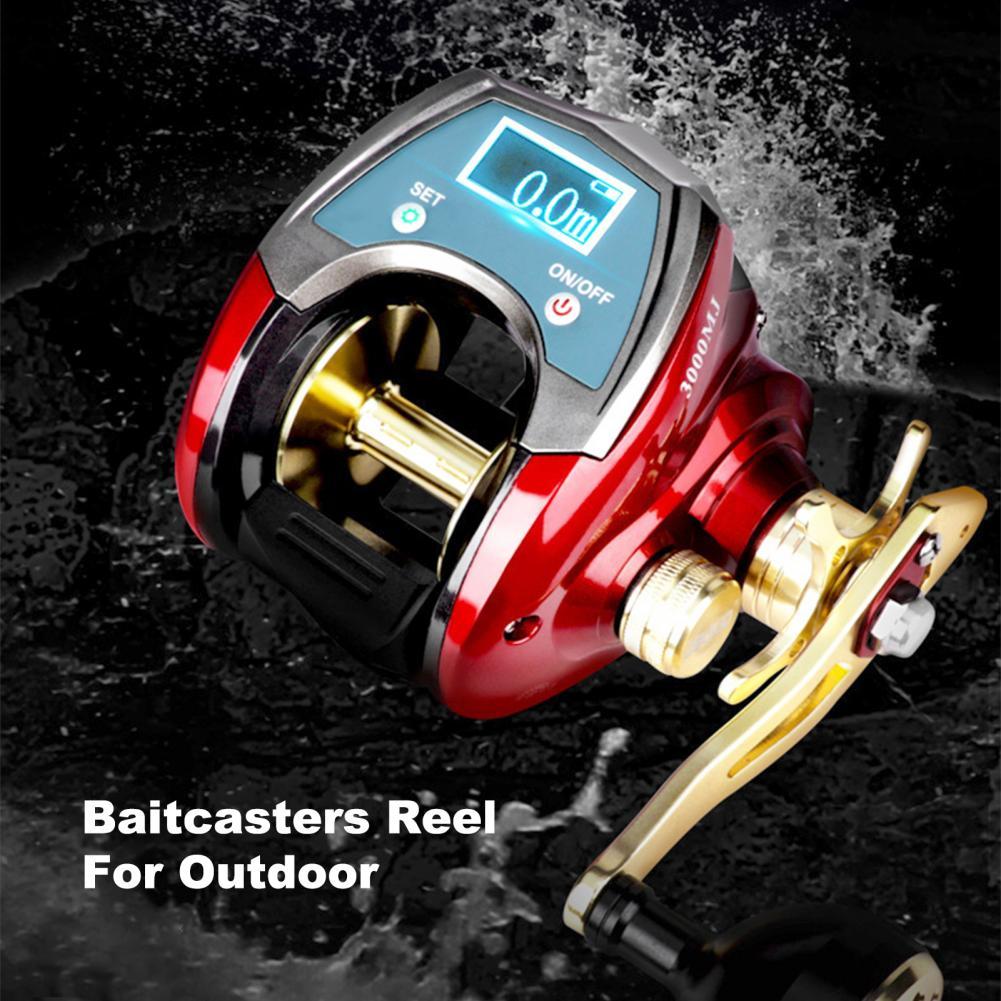 20kg Braking Force Large Capacity Saltwater Drag Baitcasters Reel for Beginner enlarge