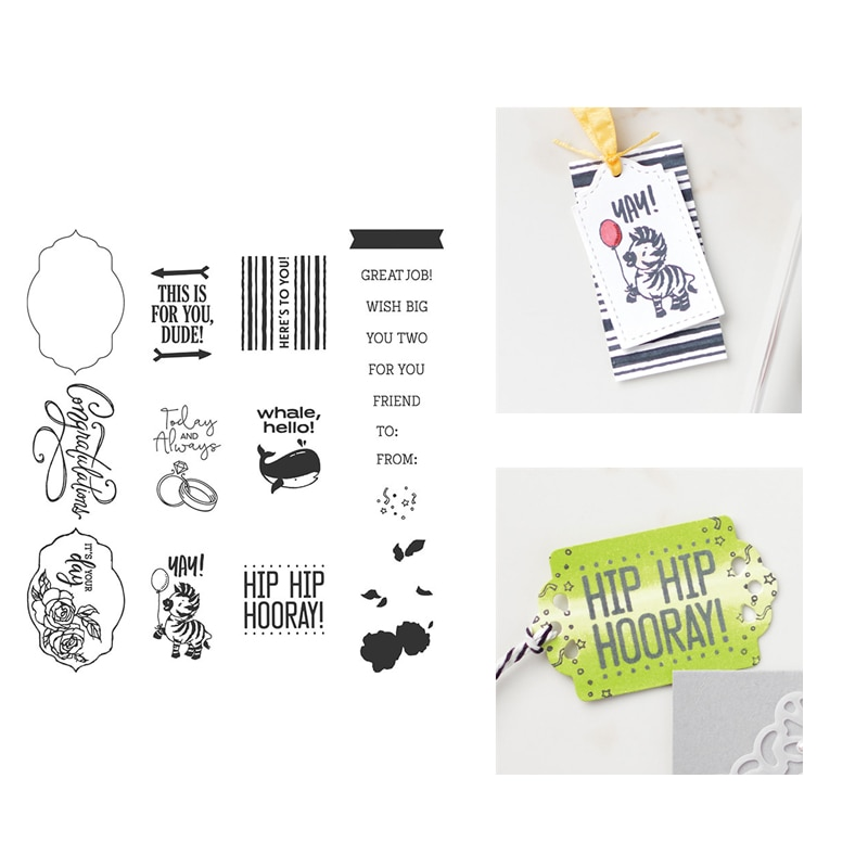 2020 новые штампы для резки металла и скрапбукинга для изготовления бумаги Зебра тиснение рамка карты Ремесло с прозрачными штампами Stampin Up Set