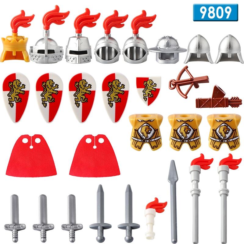 DR.TONG 21 unids/lote WM1034 Lord uruk-hai Herr Der Ringe casco de bloques de construcción DIY juguetes niños regalo